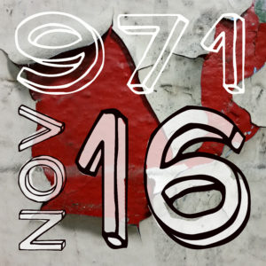 97116 square graphic with Nov 16 art show date