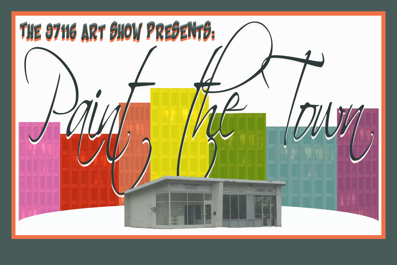 97116 Art Show's Paint the Town logo